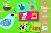 Настольная картонная детская игра Кто где живет?