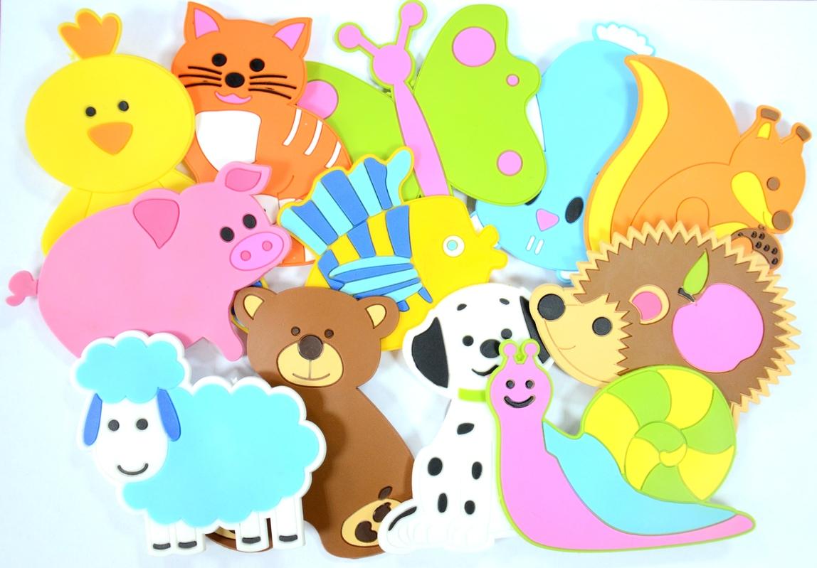 Набор для купания – фигурки животных на присосках Fixi Mixi