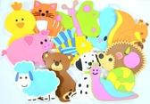 Набор для купания – фигурки животных на присосках Fixi Mixi от KINDERENOK