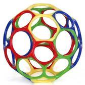 Мячик OBall- тяни и сжимай, лови и бросай!, зеленый красный синий желтый от OBall