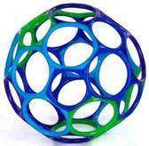 Мячик OBall- тяни и сжимай, лови и бросай!, фиолетовый синий голубой зеленый от OBall