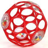 Мяч OBall с погремушкой, красный от OBall
