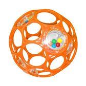 Мяч OBall с погремушкой, оранжевый от OBall