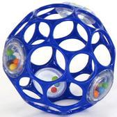 Мяч OBall с погремушкой, синий от OBall