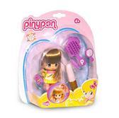 Серия Пинипон.Кукла (7см) с волосами Прическа, шатенка от Pinypon (Пинипон)