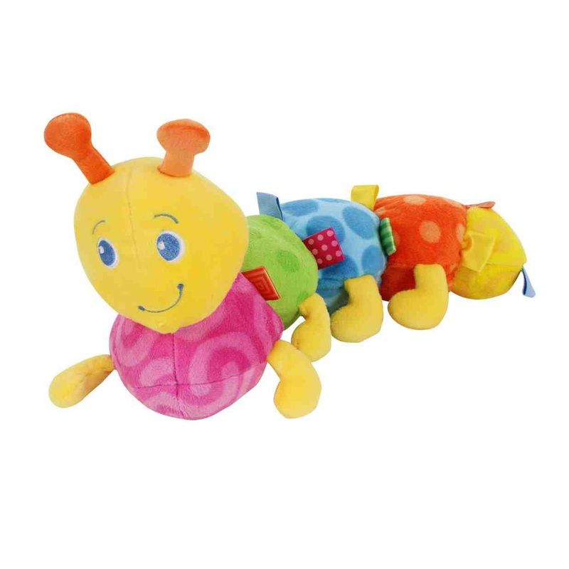 Мягкая игрушка «Разноцветная гусеница» Taggies