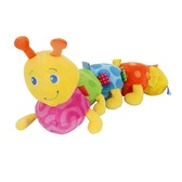 Мягкая игрушка «Разноцветная гусеница» Taggies от Taggies