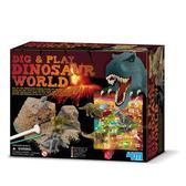 Джунгли с динозаврами серии Раскопай и играй