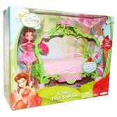 Серия Дисней. Игровой набор с куклой 11см Спальня феи Розетты от Disney Fairies Jakks (Феи Диснея)