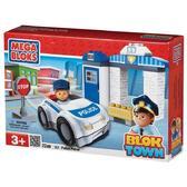МБ Серия Город. Игровой набор Полиция; 22дет., 3+ от Mega Bloks (Мега Блокс)