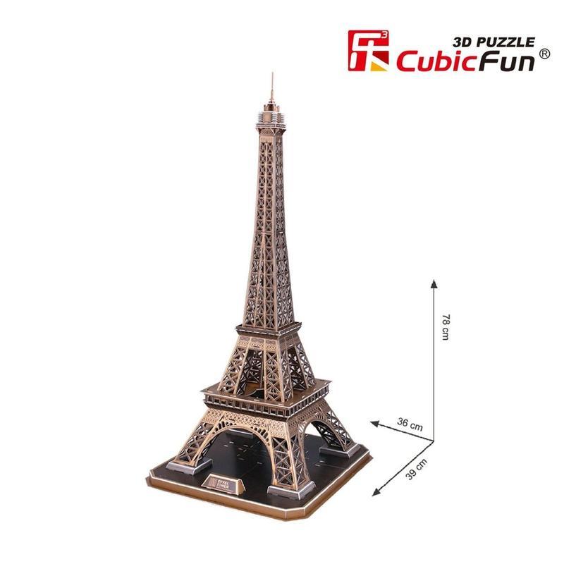 Трехмерная головоломка-конструктор 'Эйфелева башня'