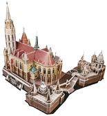 Трехмерная головоломка-конструктор 'Церковь святого Матьяша' от CubicFun (Кубикфан)